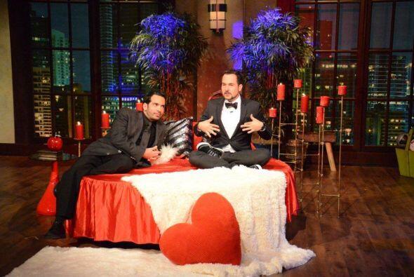 Carlos y Daniel estaban ansiosos por compartir la cama con Maripily