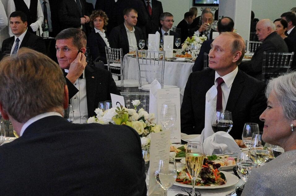 Flynn y Putin