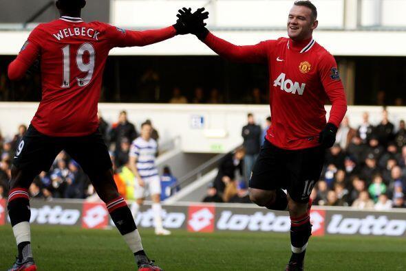 Wayne Rooney, de cabeza, fue el autor del 1-0.
