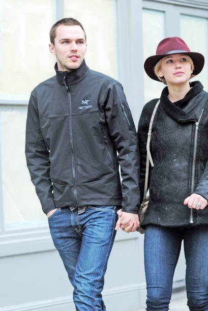 Jennifer Lawrence y Nicholas fueron afortunados en el juego, pero desafo...