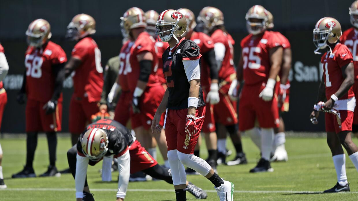San Francisco 49ers training camp