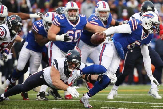 En casa, los Bills lograron su sexta victoria de la temporada al derrota...