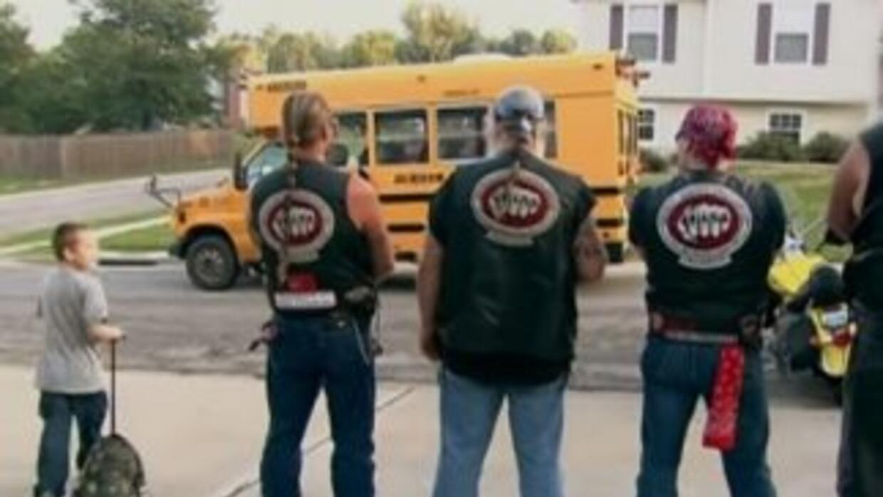 Bikers Against Child Abuse. **Foto Youtube.