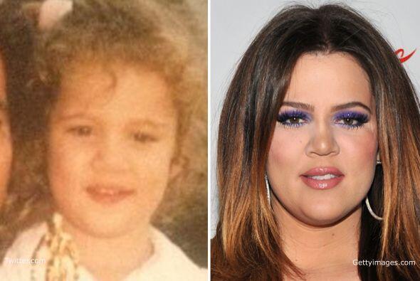 Conoce cómo ha cambiado la menor de las hermanas Kardashian y des...
