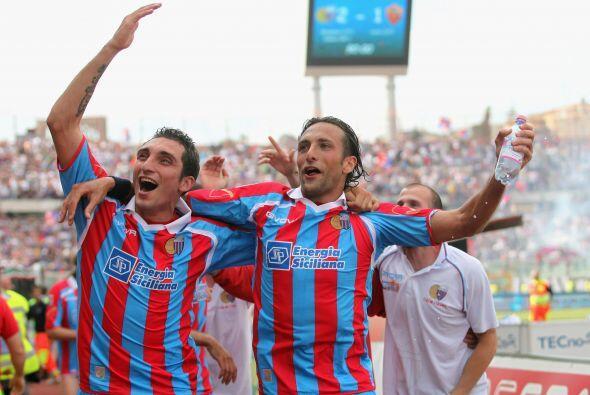 Los goles del Catania llegaron al final y no hubo tiempo para una reacción.