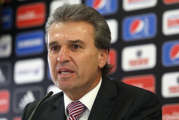 En cuestión de la selección mexicana, Néstor De La Torre (ex jugador y d...