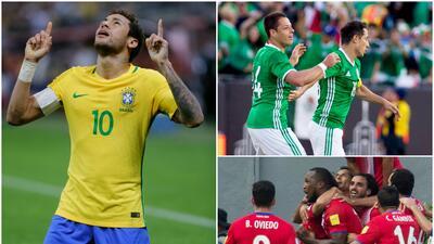 Brasil mantiene su corona, el 'Tri' pierde terreno con Costa Rica en el ranking FIFA
