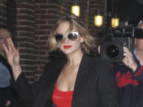 Jennifer Lawrence apareció luciendo espectacular en Nueva York.