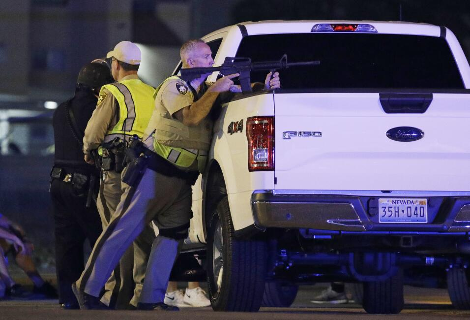 Las autoridades policíacas de Las Vegas creen que se trató...