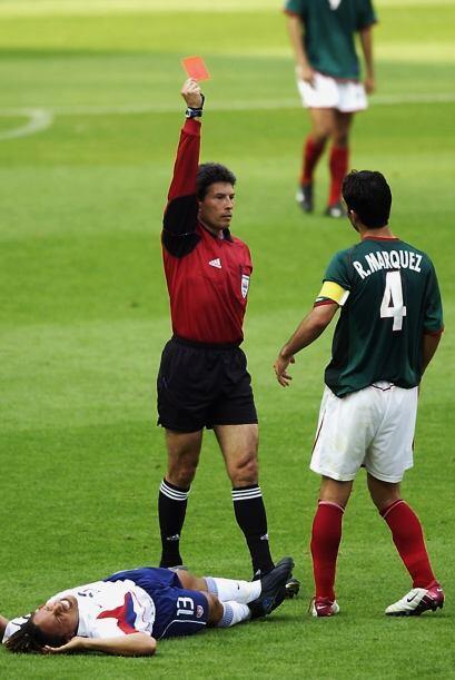 En el Mundial de 2002 entre México y Estados Unidos, todo indicaba que e...