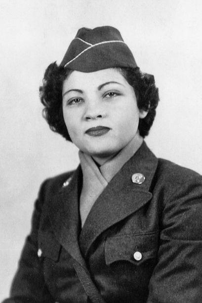 Celina en el Cuerpo Femenino del Ejército (Women´s Army Corps o WAC, a l...