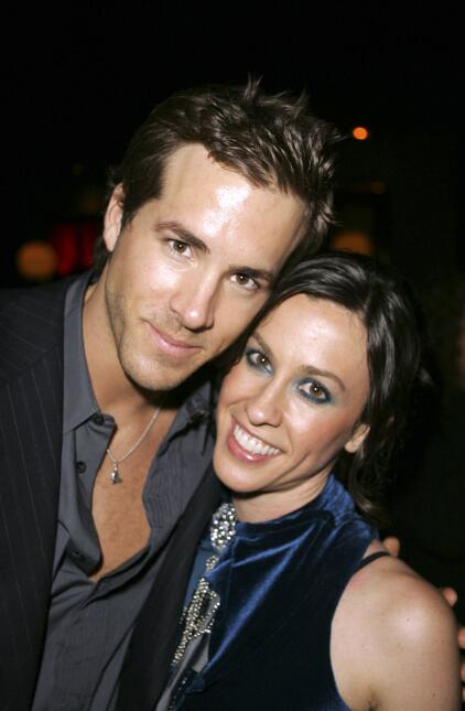 Ryan Reynolds y Alanis Morissette