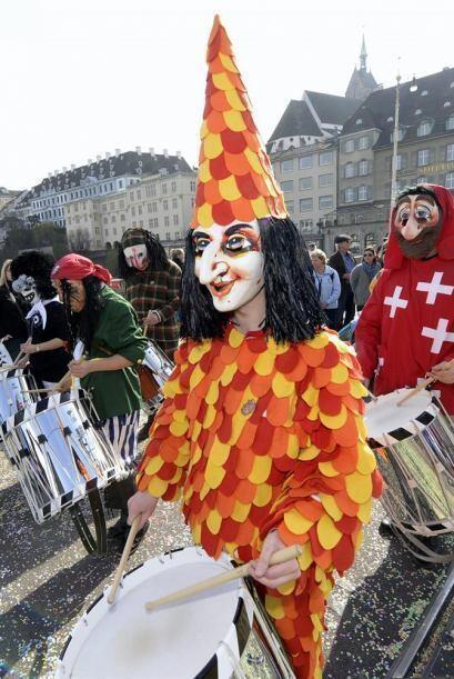 Los disfraces de en el desfile fueron variados y coloridos.