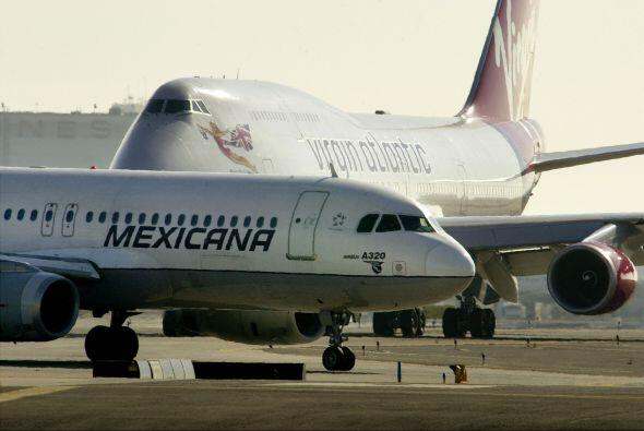 Badín Cherit refirió que las aeronaves están en posesión de Bancomext (e...