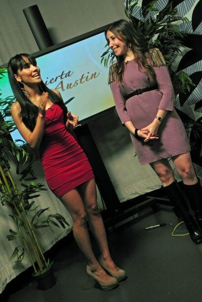 La carismática semifinalista de Nuestra Belleza Latina 2009 nos vino a c...