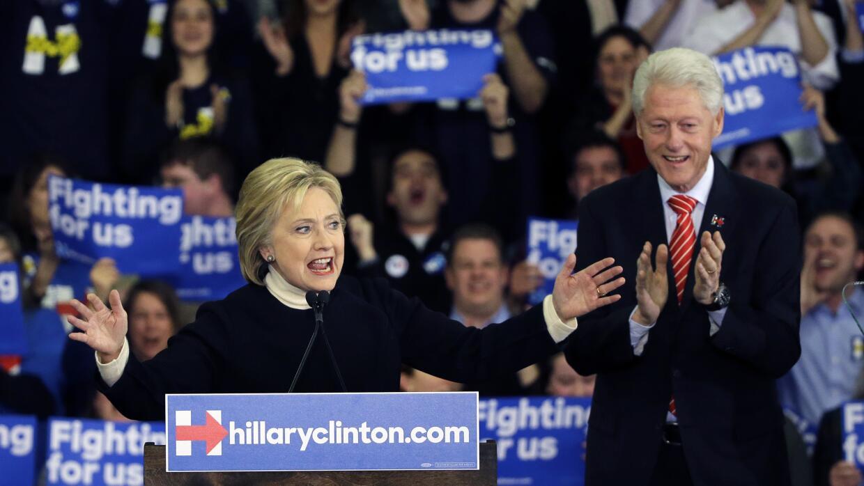 Clinton reconoció su derrota y dijo que la lucha sigue.