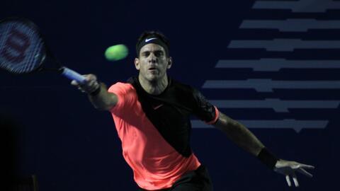Del Potro habrá jugado los dos torneos principales de ATP en M&ea...