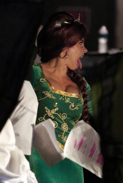 ¿A quién le estás enseñando esa bella lengüita Sofía?