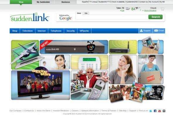 14. SUDDENLINK   Sector de la industria: Telecomunicaciones.  Ejemplos d...