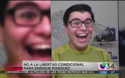 Niegan libertad condicional a Enrique Márquez