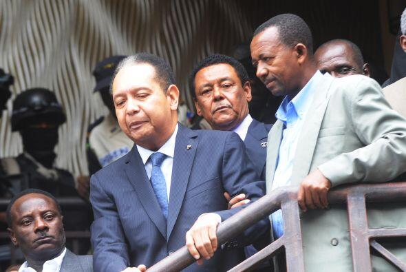 Jean-Claude Duvalier también conocido como 'Baby Doc', de 59 años, fue r...