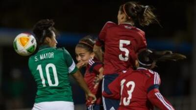 México y Colombia debutaron con empate a un gol en fútbol femenino.