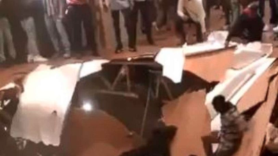 El piso de un apartamento colapsa durante una fiesta y deja al menos 30 heridos