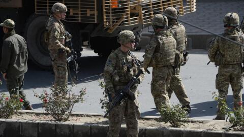 Estados Unidos mantiene cerca de 10,000 soldados en Afganistán pa...