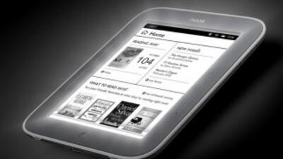 Nook para leer en la noche y en el sol, un gran avance en e-readers.