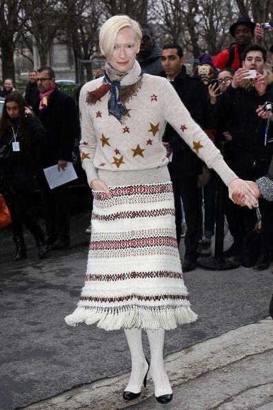 Otra fashionista de corazón que nunca se pierde los desfiles de esta sem...