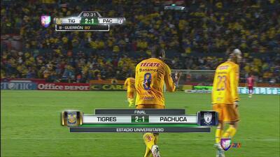 Tigres 2 – Pachuca 1: Tigres toma el pulso del juego y vence en casa