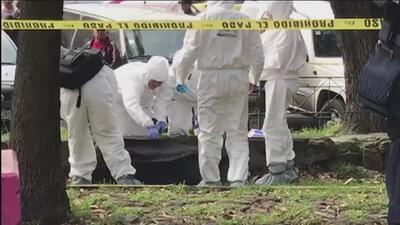 Video muestra el momento en que trasladaron la maleta donde apareció el cuerpo de una adolescente en México
