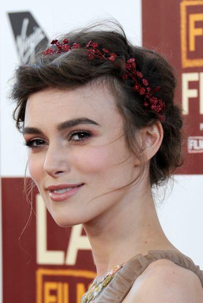 Keira Knightley decidió echarle flores al estilo de la mexicana de una f...