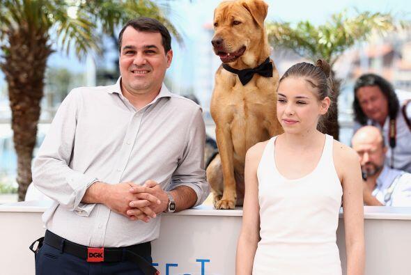 Los dos perros que interpretaron a los protagonistas, Body y Luke, ganar...