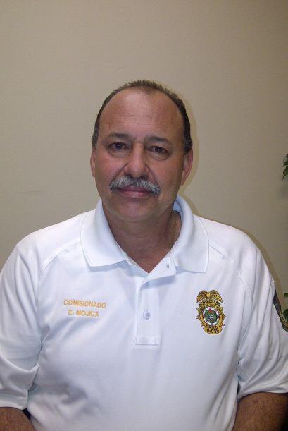 Edwin Mojica es el comisionado del Cuerpo de Vigilantes de Recursos natu...