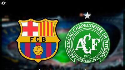 Oficial: Chapecoense jugará contra el Barcelona por el trofeo Joan Gamper
