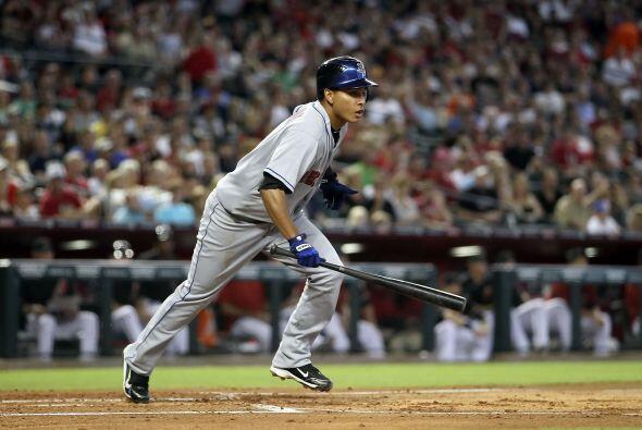 2B. Rubén Tejada. Mets de Nueva York. Tejada consiguió batear tres dobl...