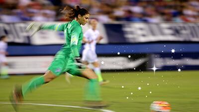 En la Copa SheBelives, la selección de EEUU se enfrentó a Alemania.