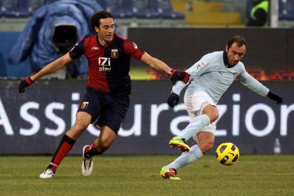 Por último, Lazio tenía la esperanza de no perder el paso del líder Mila...