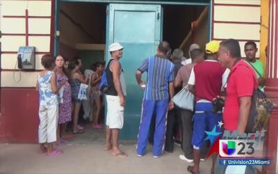 Baracoa denuncia la falta de apoyo del gobierno cubano tras el paso del...