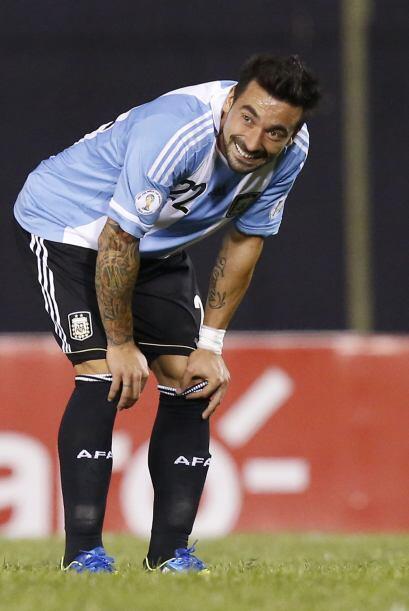 """Ezequiel el """"Pocho"""" Lavezzi,  que juega como delantero en el París Saint..."""
