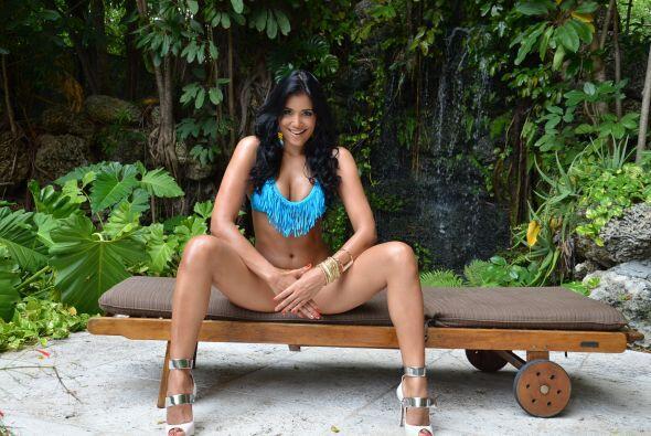 Sofinel Baez es una guapa dominicana que con su belleza y gran carisma q...