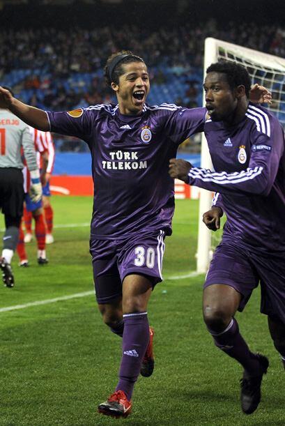 Giovani Dos Santos es de los titulares del Galatasaray turco, pero no ha...