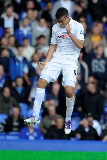 El argentino Di Santo mantiene su buena racha y anotó para el Wigan en e...