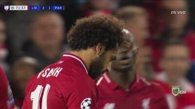 Salah dejó ir el tercero para Liverpool