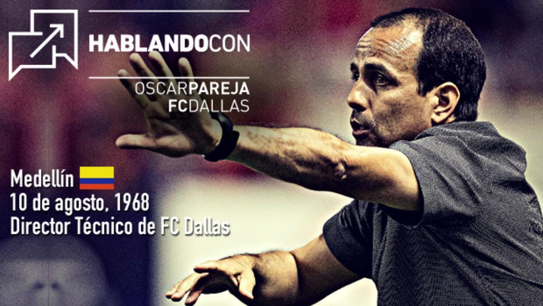 Hablando con Oscar Pareja, FC Dallas