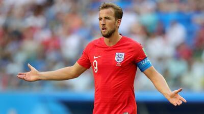 Inglaterra sufre la falta de contundencia de su goleador Harry Kane