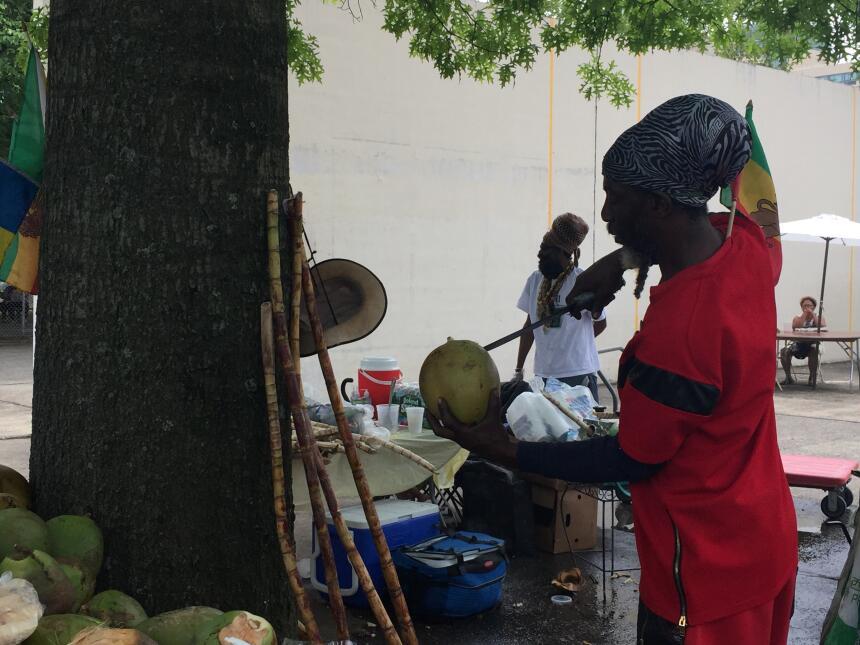 El Estado Jardín también tiene una importante población africana.