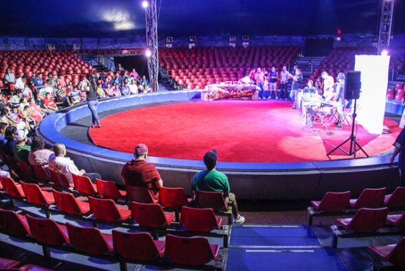 Raul, Columba y Caraturky estuvieron transmitiendo en vivo desde el Circ...