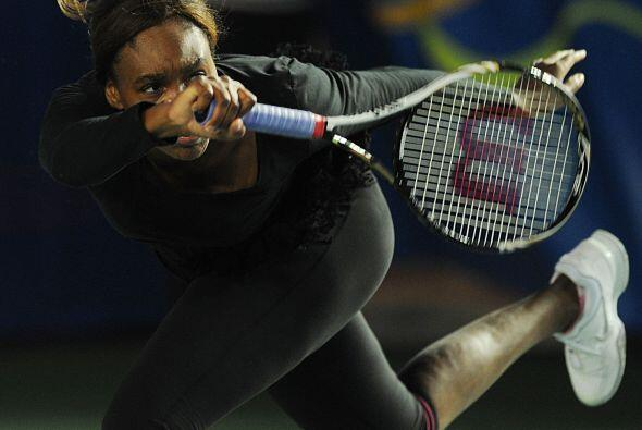 La tenista, de 30 años de edad, fue la primera jugadora afro-americana e...